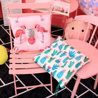 Chair cushion pillow floor mat with straps restaurant chair home cushions living room stool thickening cushion