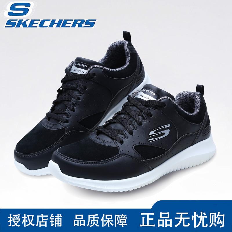 skechers斯凯奇女鞋冬 秋冬款休闲运动女鞋冬季妈妈鞋轻便跑步鞋