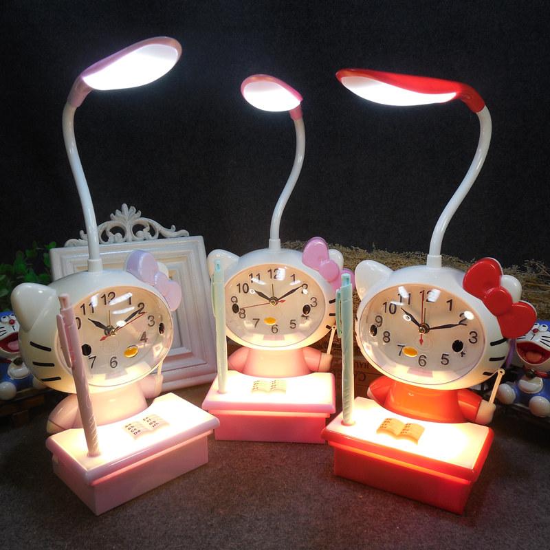 led台灯 带时钟