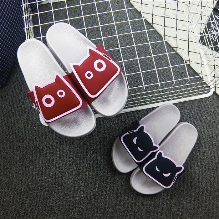一字型塑料凉拖鞋
