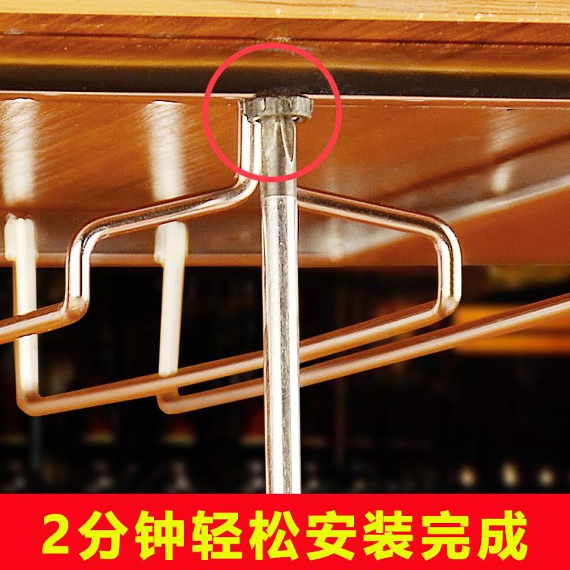 红酒杯架倒挂家用悬挂葡萄酒高脚杯架红酒架摆件创意现代简约欧式
