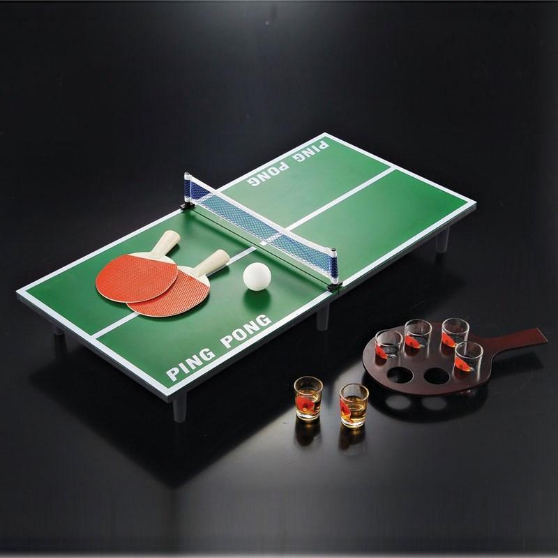 面板台家用室内桌球可乒乓球桌标准儿童简易小号迷你型网便携