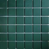 陶瓷马赛克方块瓷砖田园绿色釉面亮光厨房卫生间浴室泳池地墙砖图片