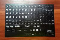 Desktop computer keyboard keys English letters correct stickers frosted wear stickers full keyboard wear stickers
