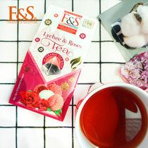 盒装独立茶包25葡萄红茶STEUARTS锡兰红茶斯里兰卡原装进口