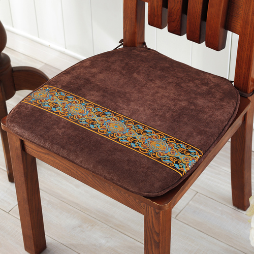 亚星中式简约餐椅垫 椅子坐垫红木椅子垫沙发坐垫秋冬加厚坐垫