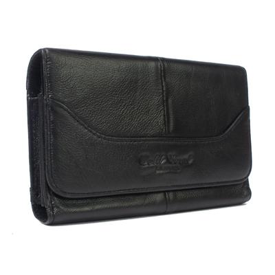 金珊瑚男士腰包牛皮手机包4.8寸5寸5.3寸 小米3S真皮穿皮带手机套哪里购买