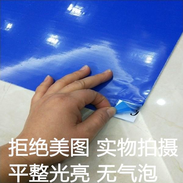 粘尘垫26*45可撕式防静电115*65脚踏地垫 无尘室防静电胶垫蓝色