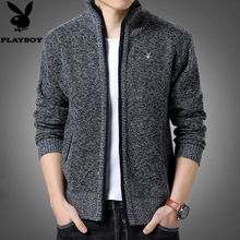 Playboy's woolen sweater in autumn and winter