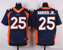 NFL球衣 丹佛野马 Denver Broncos 25# Chris Harris Jr 刺绣球服