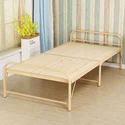 折叠床单人床家用午休实木床办公室午睡钢丝行军简易可折叠双人床