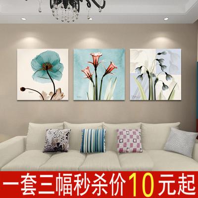 客厅壁画三联