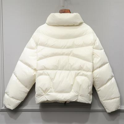 2019新款欧洲站羽绒服女短款加厚小款面包服热巴同款时尚正品外套