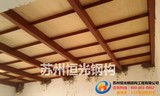 Zhejiang Light Steel Structure Membrane Structure Carport Construction and Installation of Stainless Steel Stair Rails
