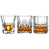 Crystal glass whiskey glass wine glass classical cup wine glass cup set brandy cup bar special wine
