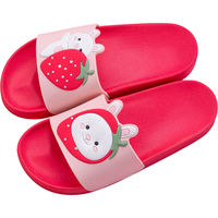 Sandals and slippers home female couple slip indoor bathroom summer children cute cartoon home male bath ins summer