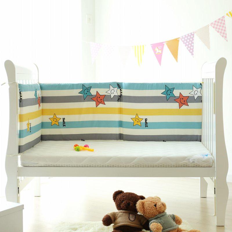 儿童床围加高