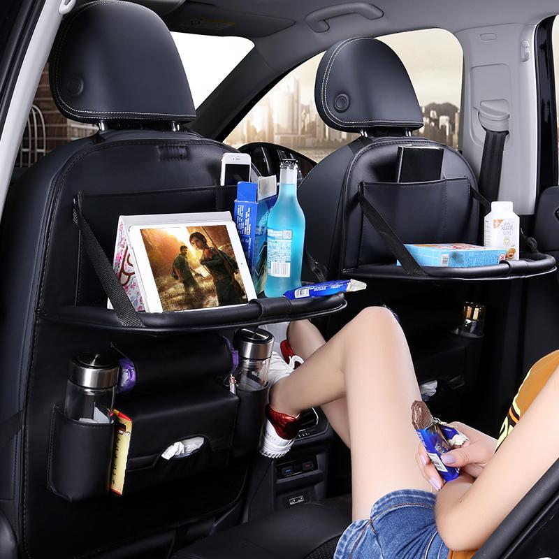 凯翼C3X3V3C3R昌河M70汽车座椅背收纳袋挂袋车载可折叠餐桌置物袋