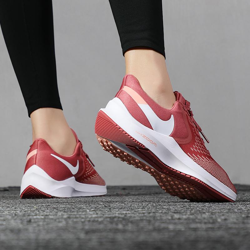 Nike耐克ZOOM气垫跑步鞋女鞋2019秋冬季休闲鞋网面透气跑鞋运动鞋