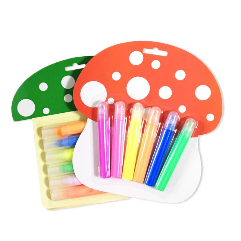 包邮3D立体彩色泡泡笔/荧光笔/DIY金属笔/创意果冻笔/炫彩水晶笔