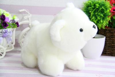 北极熊毛绒玩具公仔小号小白熊趴趴熊抱枕女孩儿童生日礼物玩具熊