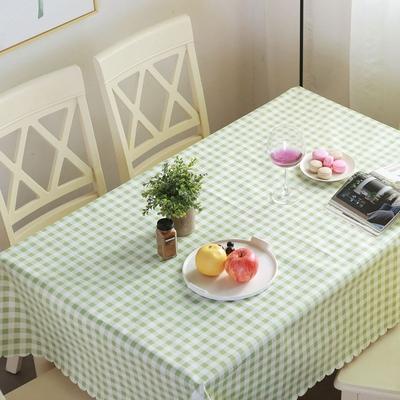 家用防水防油防烫pvc塑料免洗长方形餐桌布布艺餐厅茶几田园台布