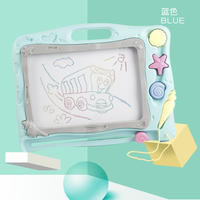 Children's drawing board magnetic writing board baby baby toys 1-3 years old 2 children's color plus size graffiti