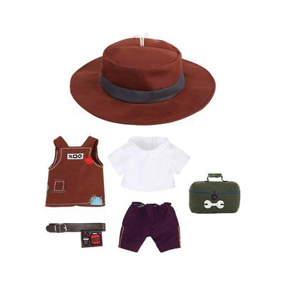 第五人格毛絨換裝公仔系列-園丁時裝 園丁換裝服飾 網易游戲周邊