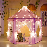 Children's tent indoor princess doll toy house oversized castle play house game house girl bed artifact