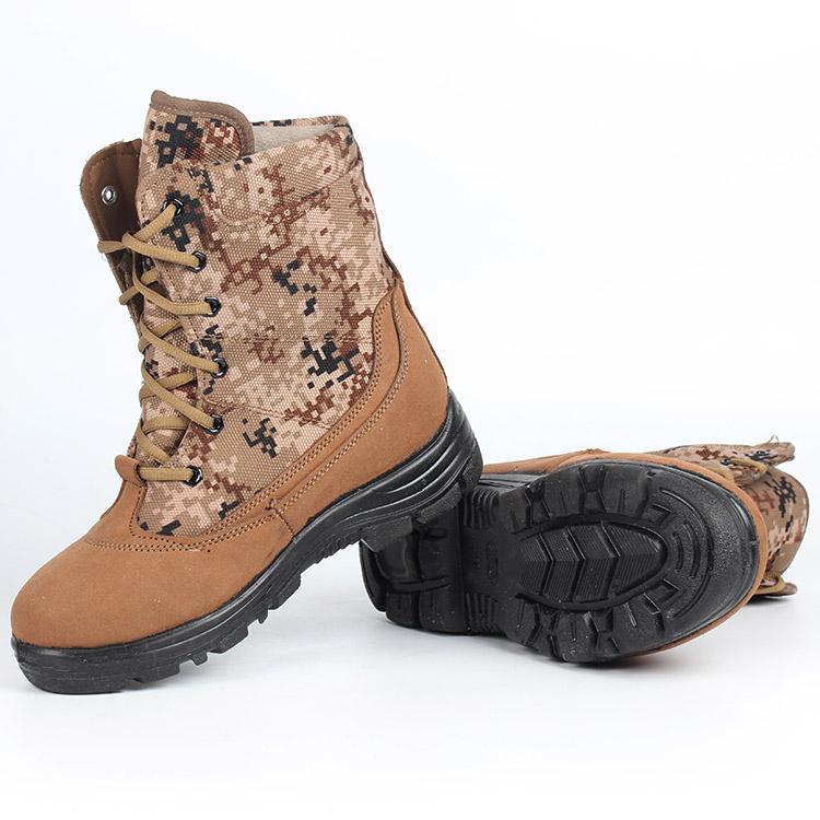 正品配发07防寒靴雪地靴男士羊毛军靴冬季棉鞋防寒防滑冬季保暖靴