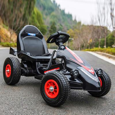 儿童四轮卡丁车可坐男女宝宝遥控玩具汽车小孩充气轮沙滩车包邮