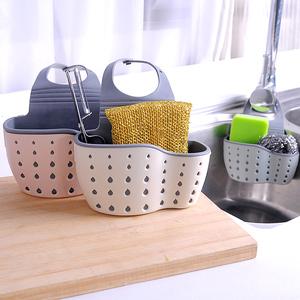 家居用品生活厨房用具小百货实用水槽沥水收纳挂篮置物架