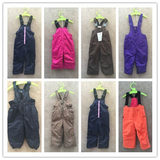 Outdoor cotton-padded children's ski pants, cotton trousers, wind-proof and water-proof 80-110