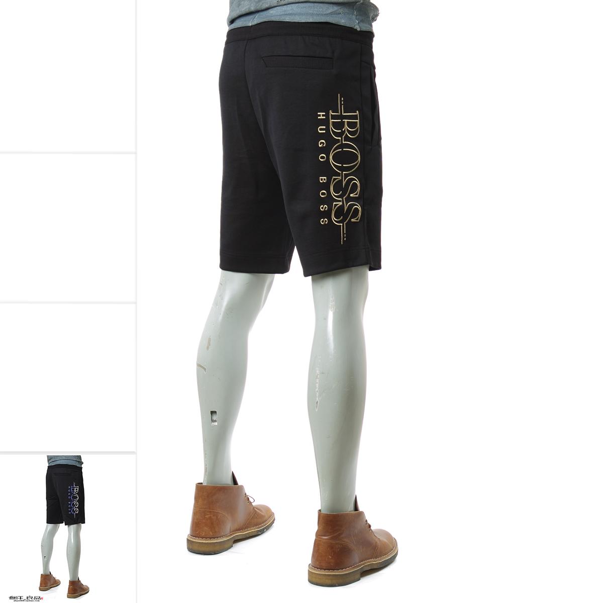 叁仟良品 Hugo Boss 绿标 男士 休闲短裤 新款 50387174 10134333