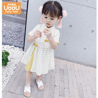 Female baby summer dress Hanfu Tang Chinese ancient style windbreaker princess dress skirt cheongsam 2019 child 1 3 years old child
