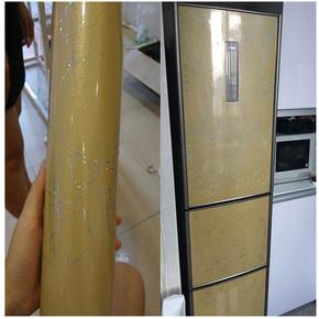 冰箱贴纸 防水防油自粘空调装饰翻新保护贴膜桌面烤漆家具餐桌