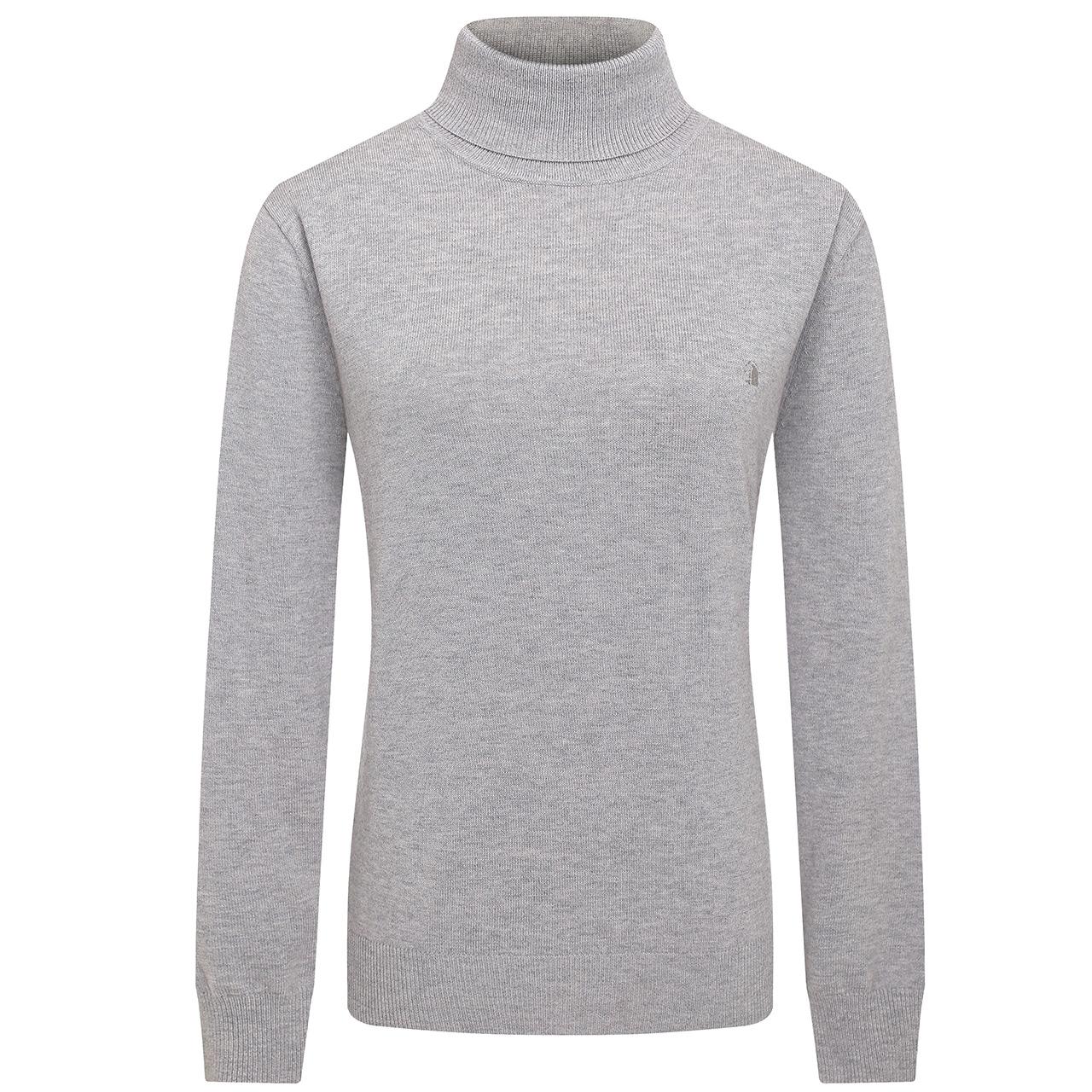 CAMICISSIMA/恺米切秋季新品男士高领羊毛衫 灰色时尚休闲毛衣