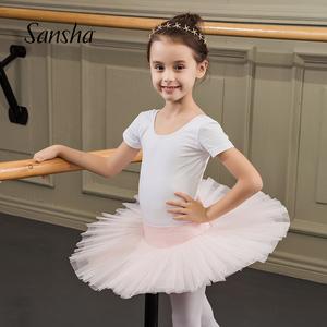Sansha 法国三沙儿童TUTU裙 芭蕾舞裙专业表演裙 女半身裙纱裙