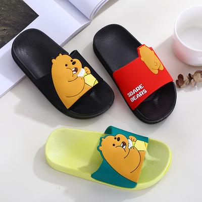 儿童拖鞋夏季女童室内居家宝宝防滑男孩浴室卡通亲子中大童凉拖鞋
