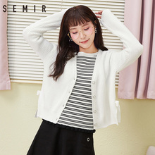 Women's Spring and Autumn sweaters, cardigans, white jackets and jackets at Senma Official Store