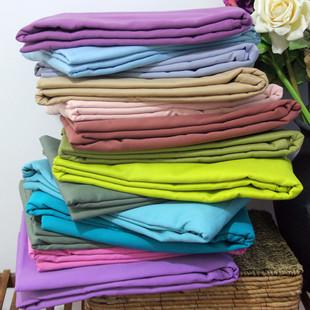 加厚纯棉磨毛双人床单全棉磨绒纯色素色不发凉1.5/1.8床睡单单品