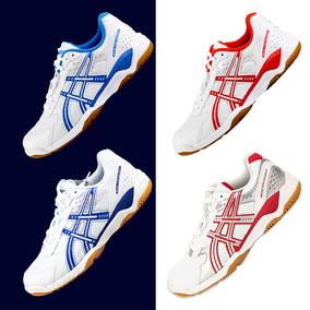 亚瑟士乒乓球鞋ASICS男鞋女鞋训练b000d防滑耐磨专业乒乓球运动鞋