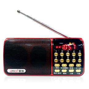 夏新M-127插卡小音箱带录音老年人收音机TF卡U盘便携式播放器音响