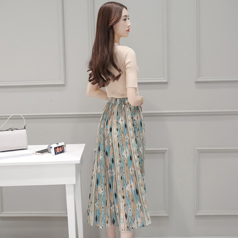 乔曼姿2016夏季新款韩版时尚女装修身套装3718382 两件套