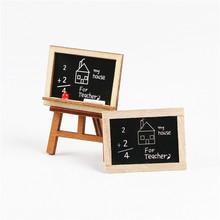 1:12dollhouse迷你微景观娃娃屋DIY纯手工配件微缩食玩 画架黑板