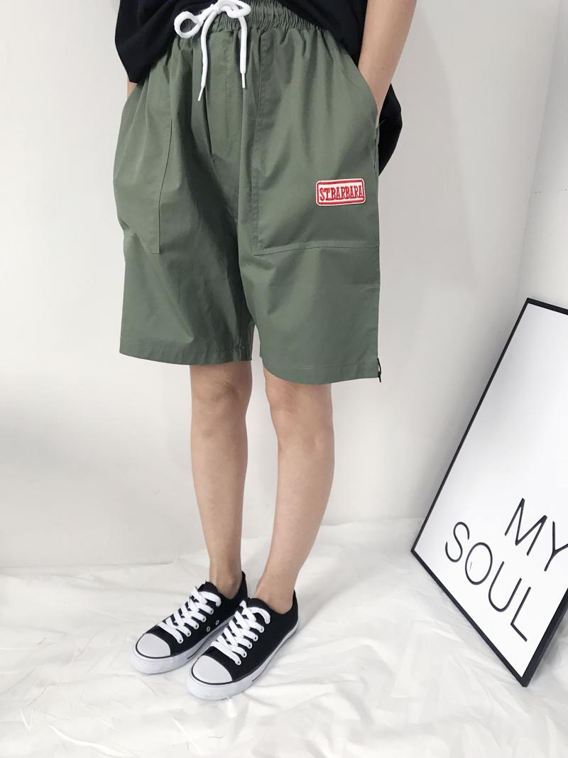 贴布可爱短裤