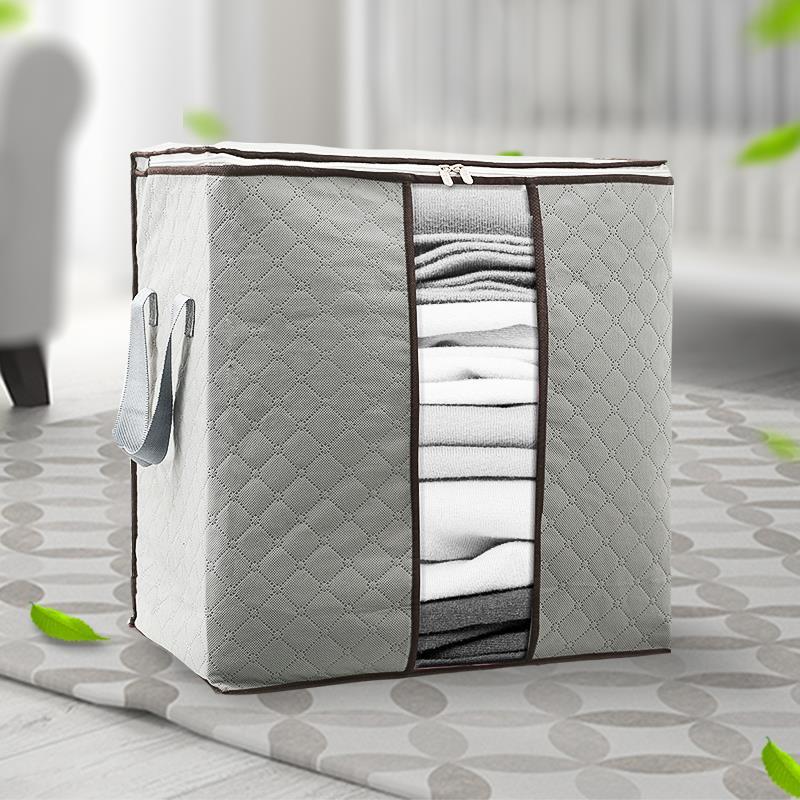 被袋收纳博士打包大容量收纳袋清新床单袋防霉防潮家居收纳拉链式
