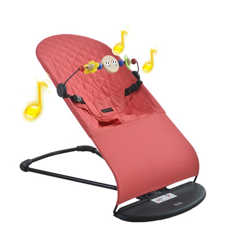 beiga摇摇椅学座椅摇篮哄宝宝带娃哄睡哄娃神器安抚座椅婴儿用品