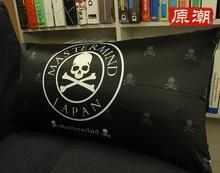 骷髅头潮牌MMJ创意家居靠背抱枕套坐垫情侣抱枕午睡沙发枕头靠垫