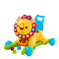 American Fisher Price Fisher Import Baby Puzzle 4 in 1 Shake Little Lion Walker